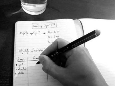 carnet de suivi coaching à distance lyon
