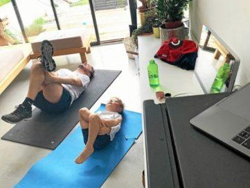 coaching sportif vidéo parent enfant lyon