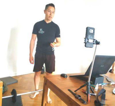 coaching sportif en ligne personnalisé
